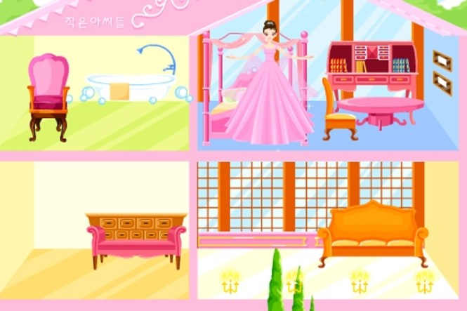 My Home Decoration Games Free Online Kid Barbie House Makeover Game