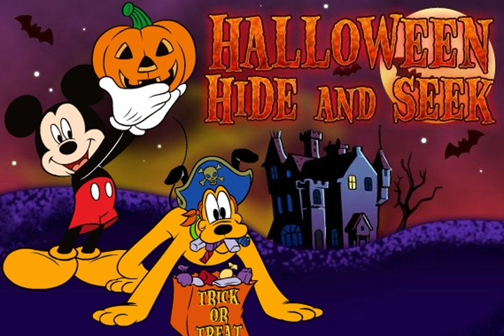 Disney Halloween Hide And Seek Game Halloween Games