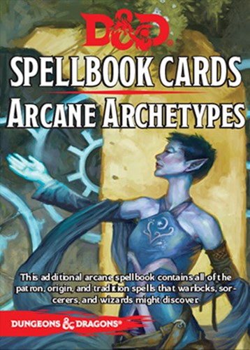 Dungeons And Dragons RPG Arcane Archetypes Spell Deck