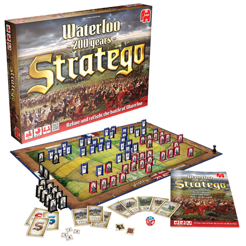 Stratego Waterloo Board Game The Gamesmen