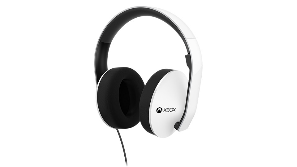 Xbox One White Stereo Wired Headset The Gamesmen