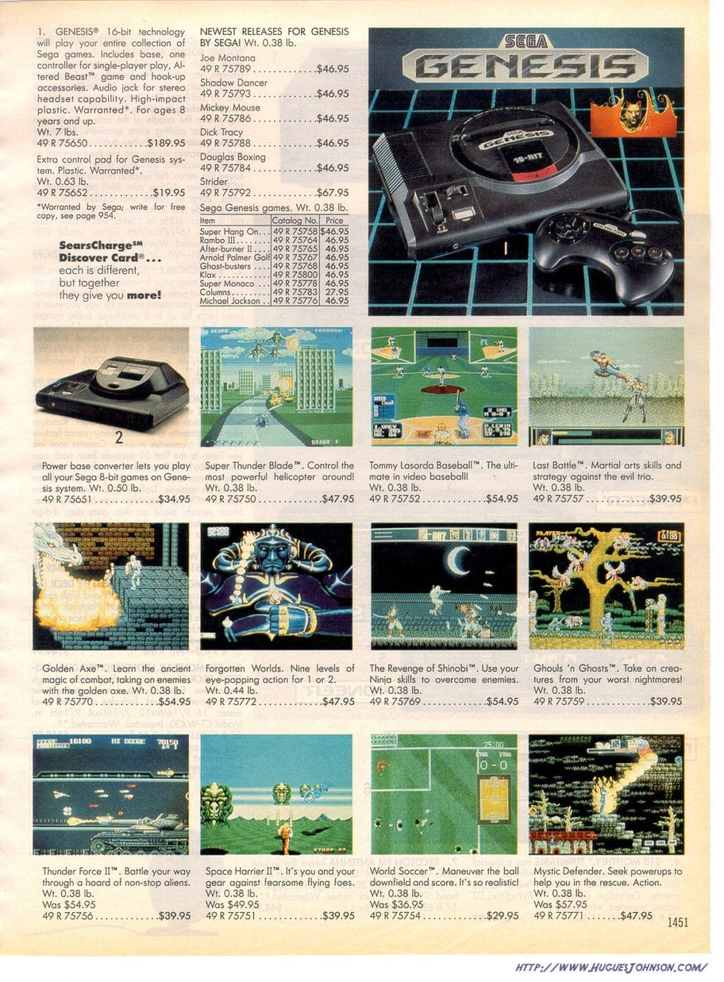 The Sears Catalog A Step Back In Time Rare Video Games