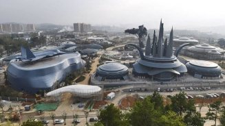 Oriental Science Fiction Valley parco divertimenti realtà aumentata