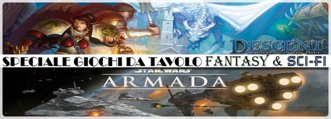 Speciale giochi da tavolo – Fantasy & Sci-fi