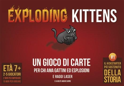 Asmodee distribuirà in Italia Exploding Kittens