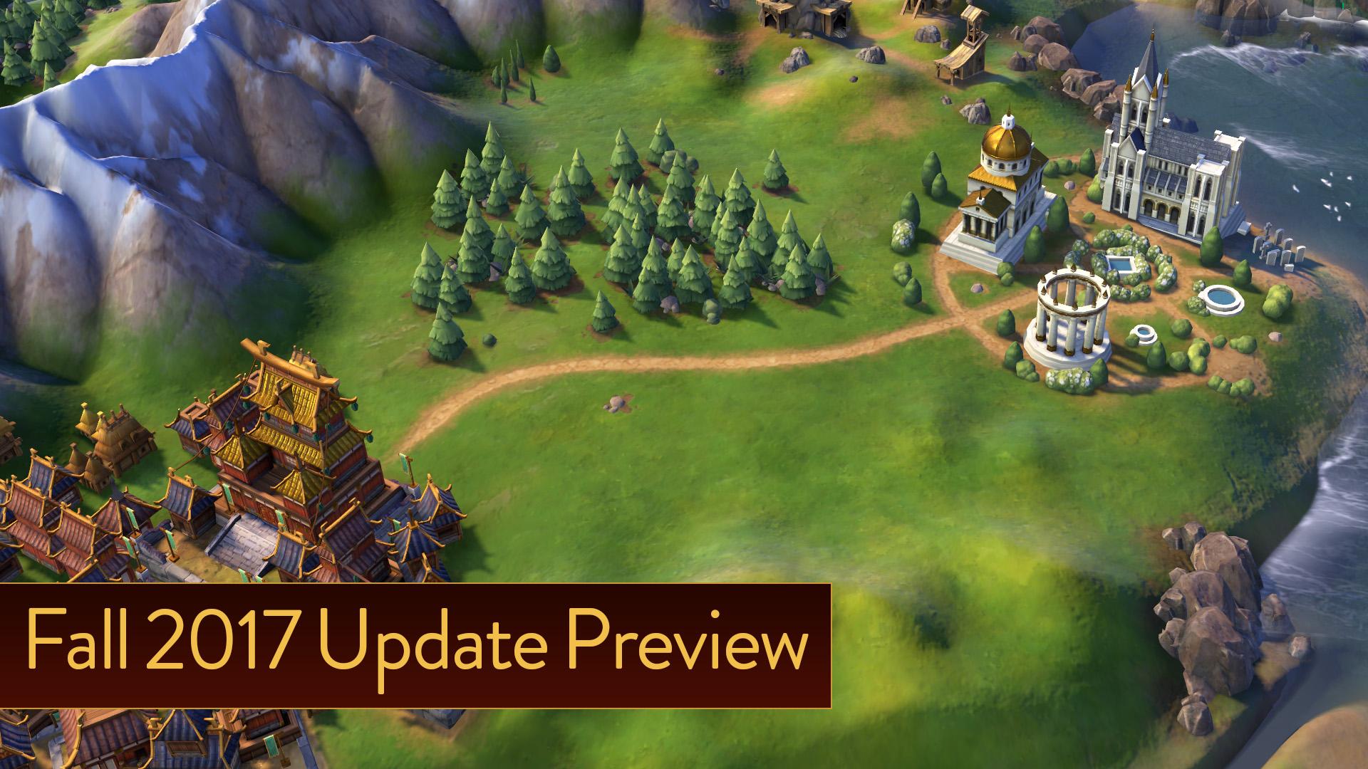 Religion Reboot In Fall 2017 Update For Civilization VI