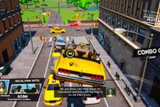 ドライビングタクシーゲーム『Taxi Chaos』Steam版リリース―おかしな乗客を乗せて街を爆走 画像