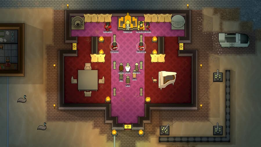 how to make a dignified throne room in