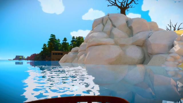 The Witness PS5 - RTX