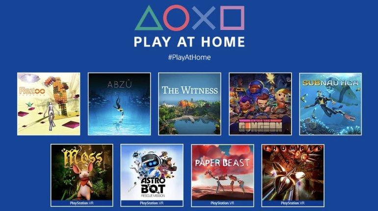 Sony offre 10 jeux