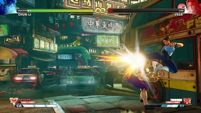 STREET FIGHTER V CHAMPION EDITION recensione ps4