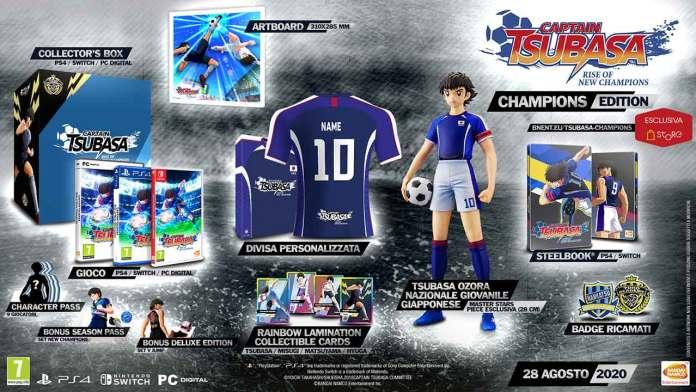 captain tsubasa rise champions champions edition