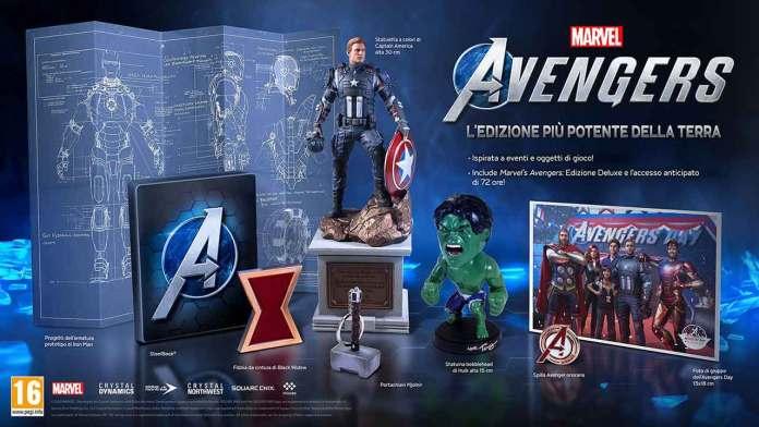marvel avengers edizione speciale collector