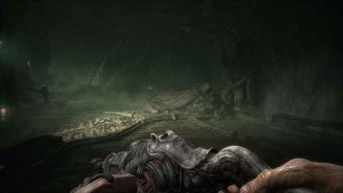 Scorn gameplay