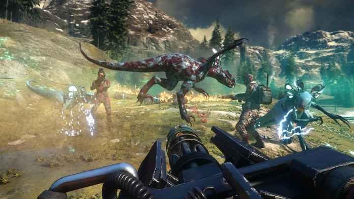 Second Extinction gameplay