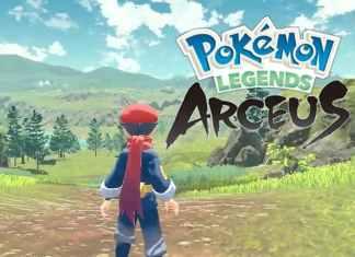 Pokémon Legends: Arceus 2022