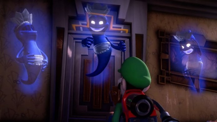 Luigi's Mansion 3 gameplay