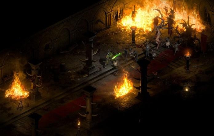 Diablo II Resurrected gameplay