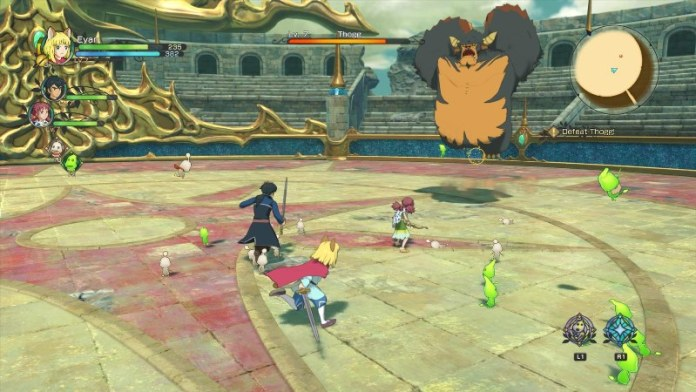 Ni no kuni II - Il destino di un regno gameplay