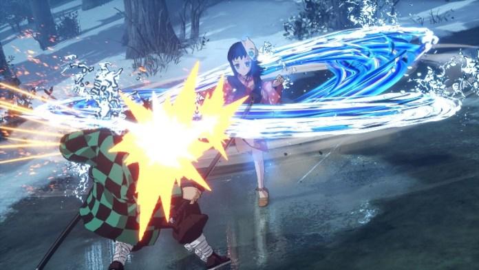 Demon Slayer Kimetsu no yaiba The-Hinokami Chronicles gameplay