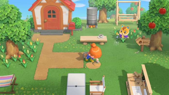 Animal Crossing: New Horizons Player Figures Out How To Place Items In The Middle Of Tables