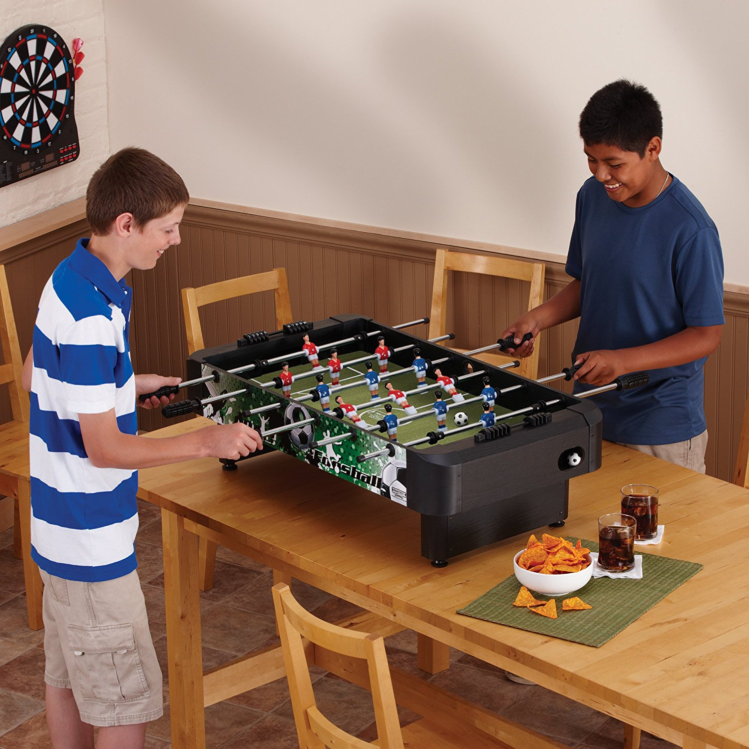 What 39 s the best mini foosball table for your 5 tables reviewed - Who invented table football ...