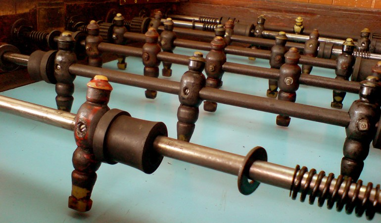Who Invented Foosball?