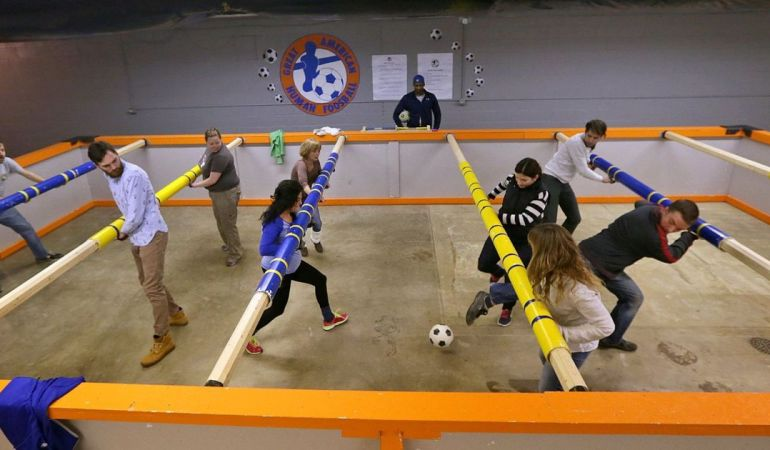 The Complete Guide to Human Foosball