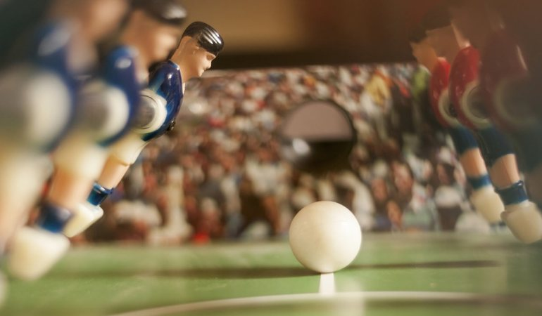 A Brief History of Foosball Tables