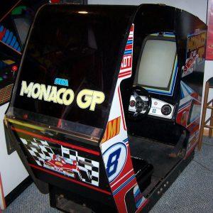 Borne SEGA - Monaco GP