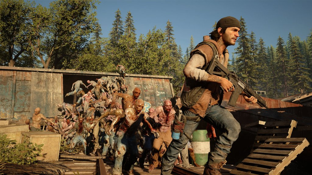 Days gone - l'attaque du wagon boucherie