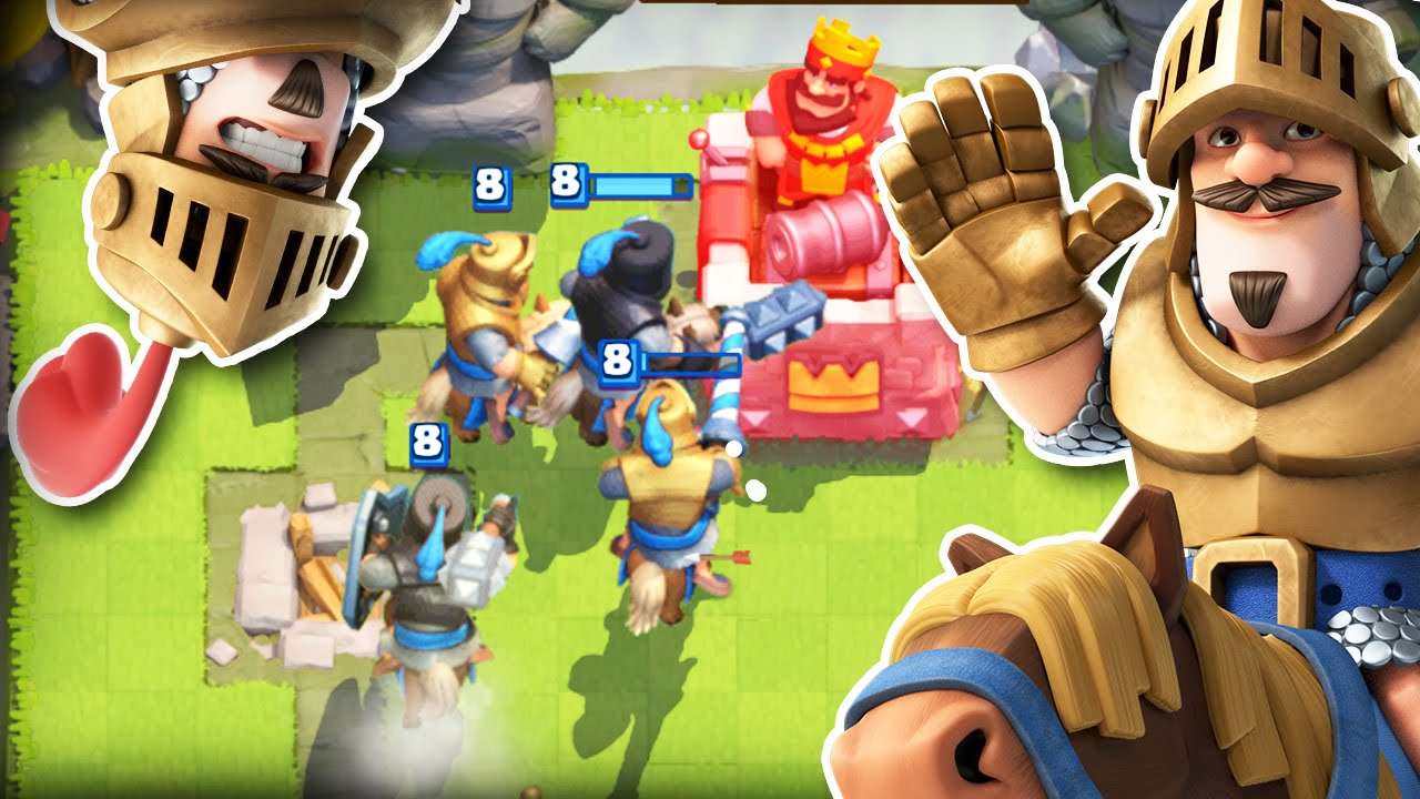 Clash Royale Double Prince Deck 29 Push To Arena 9