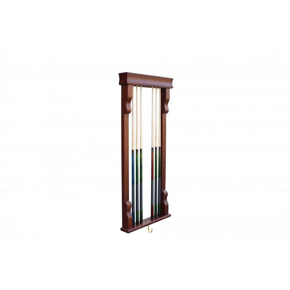 wall mounted cue rack