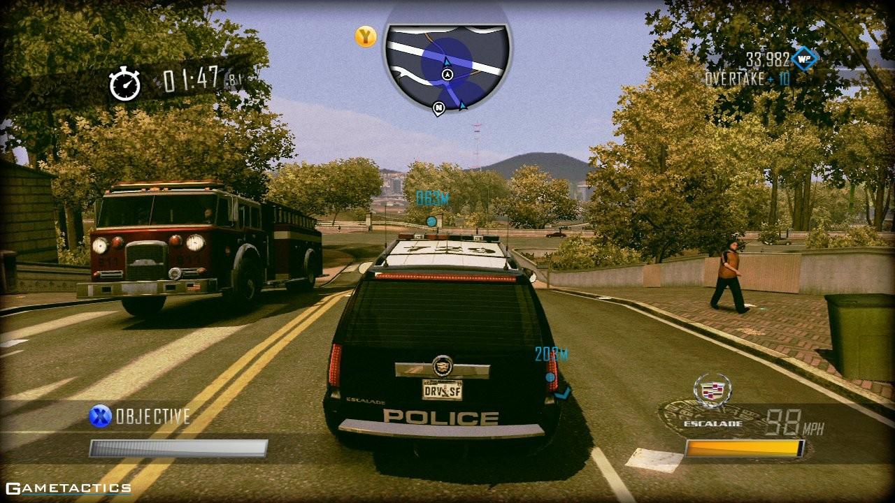 Driver San Francisco Review (Xbox 360) : Gametacticscom