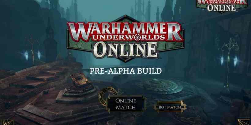 Warhammer Underworlds: Online Pre Alpha Menu