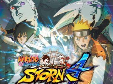 Naruto Shippuden Ultimate Ninja Storm 4 updated box art xbox one