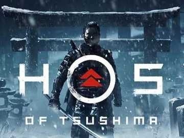 Ghost of Tsushima Logo Artwok