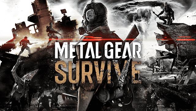 Metal Gear Survive Keyart