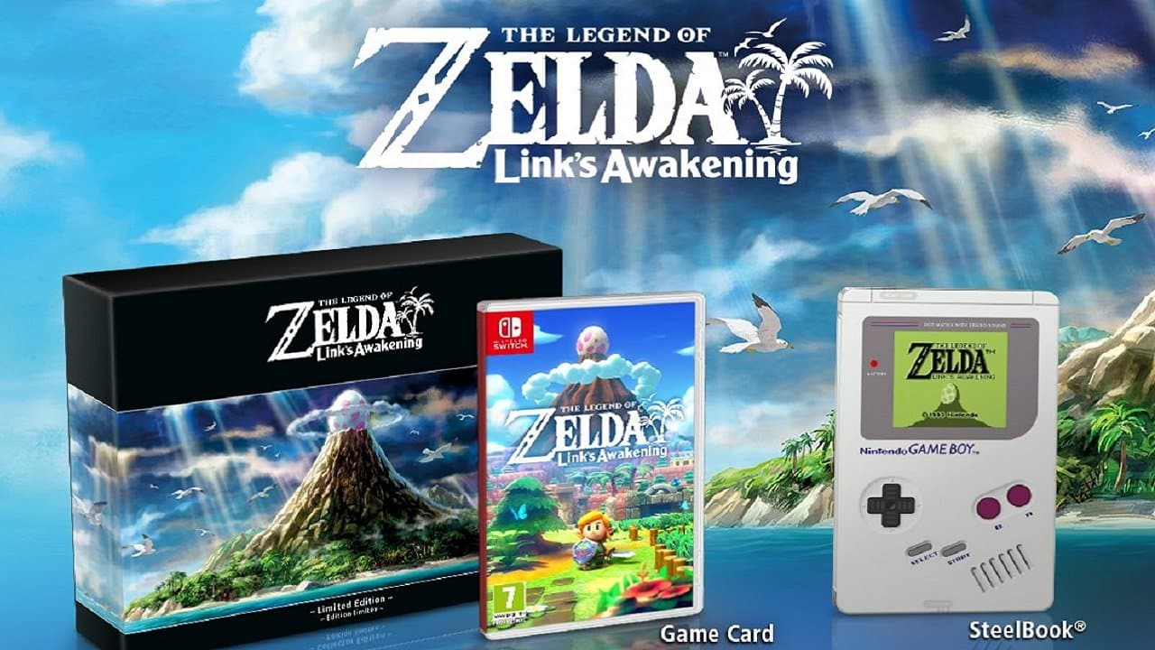 Zelda Links Awakening collector