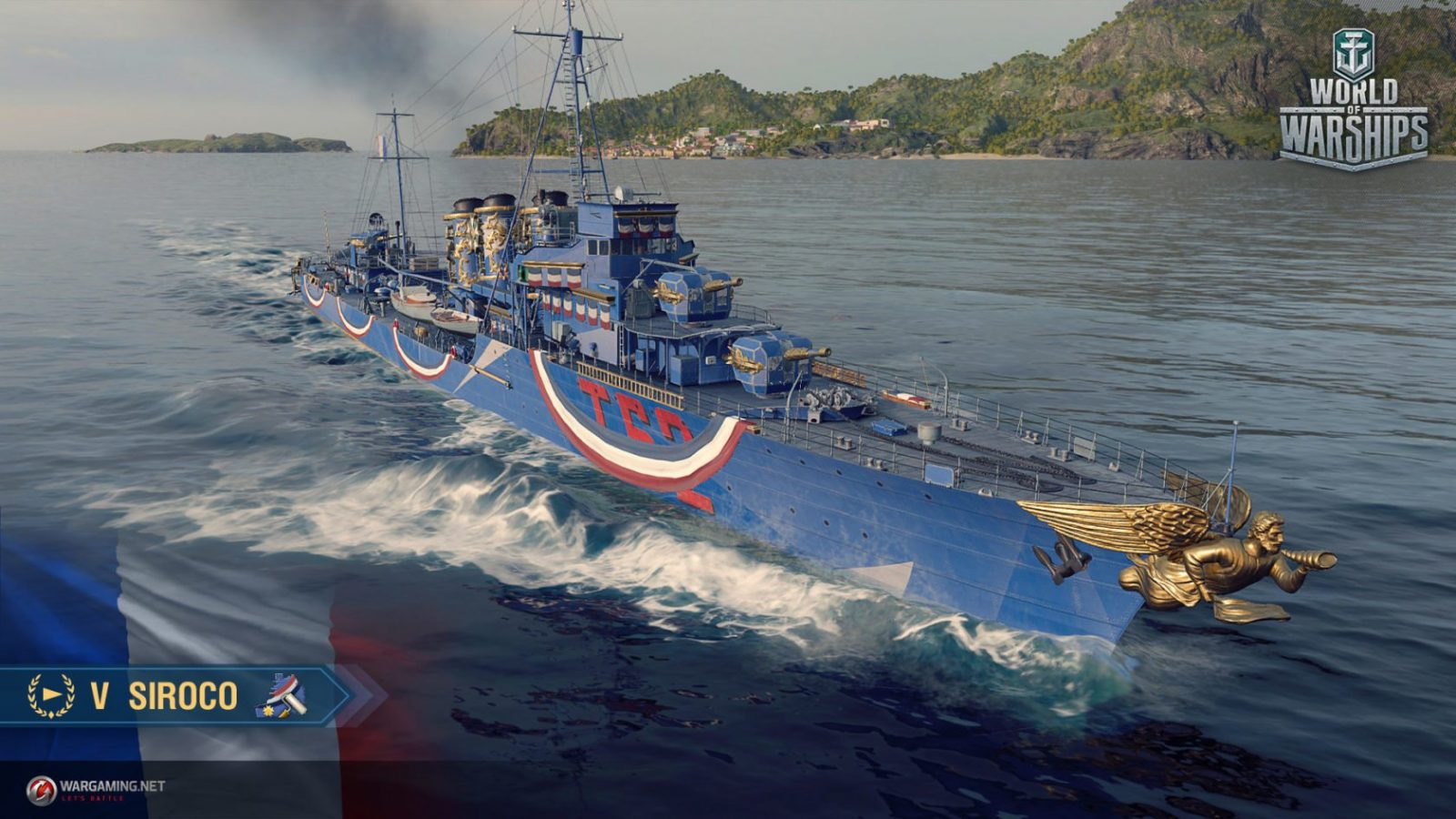 World of Warships Frankreich