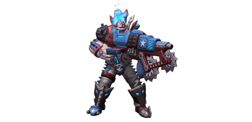Heroes of the Storm - Blizzard- Waghalsiger Roadraider Raynor - Skin