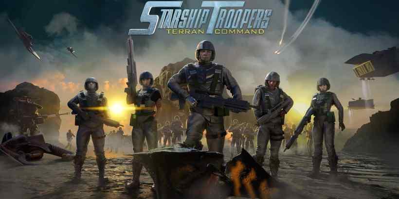 Starship Troopers Terran Command Artwork