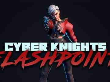 Cyber Knights: Flashpoint Artwork