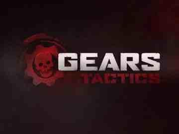 Gears Tactics Title Screen