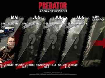 Predator: Hunting Grounds Roadmap