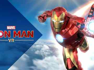 Marvel's Iron Man VR Keyart