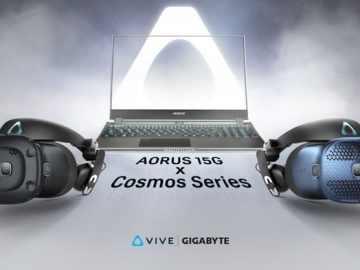 HTC VIVE Gigabyte