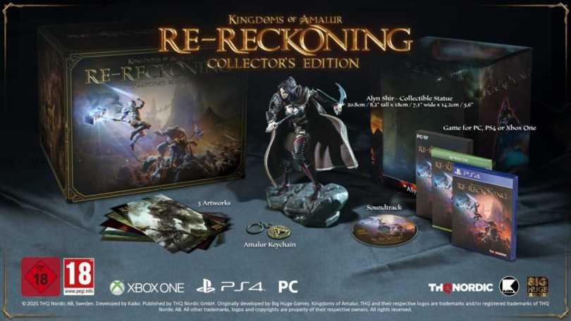 kingdoms of amalur collectors edition