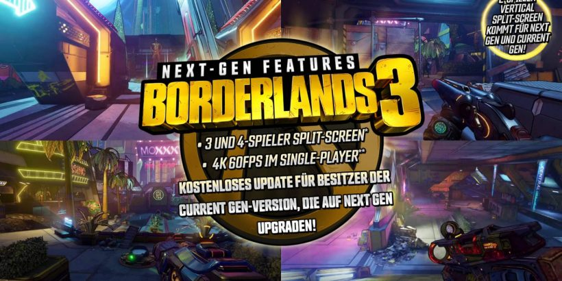 Borderlands 3 Next Gen Upgrade