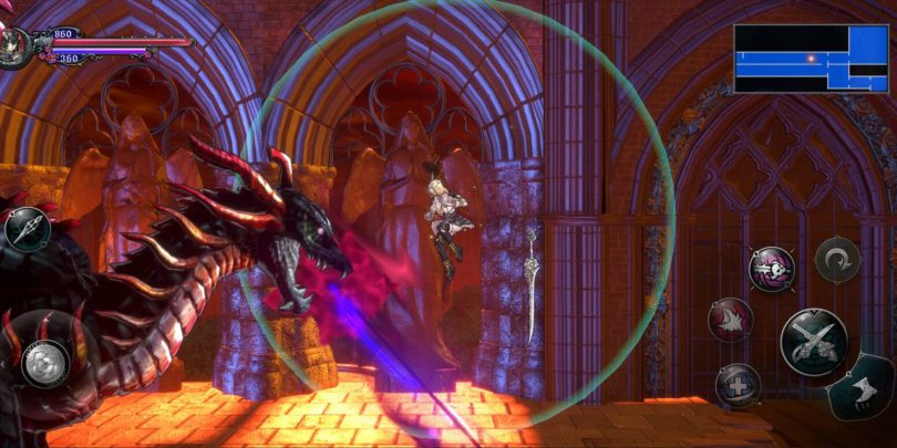 Bloodstained launch Screenshot 04